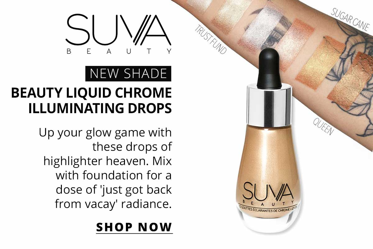 Suva Beauty Beauty Liquid Chrome Illuminating Drops