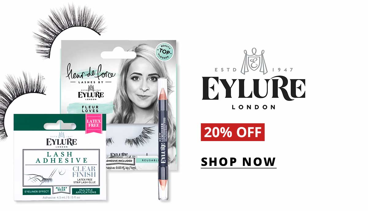 20% off Eylure