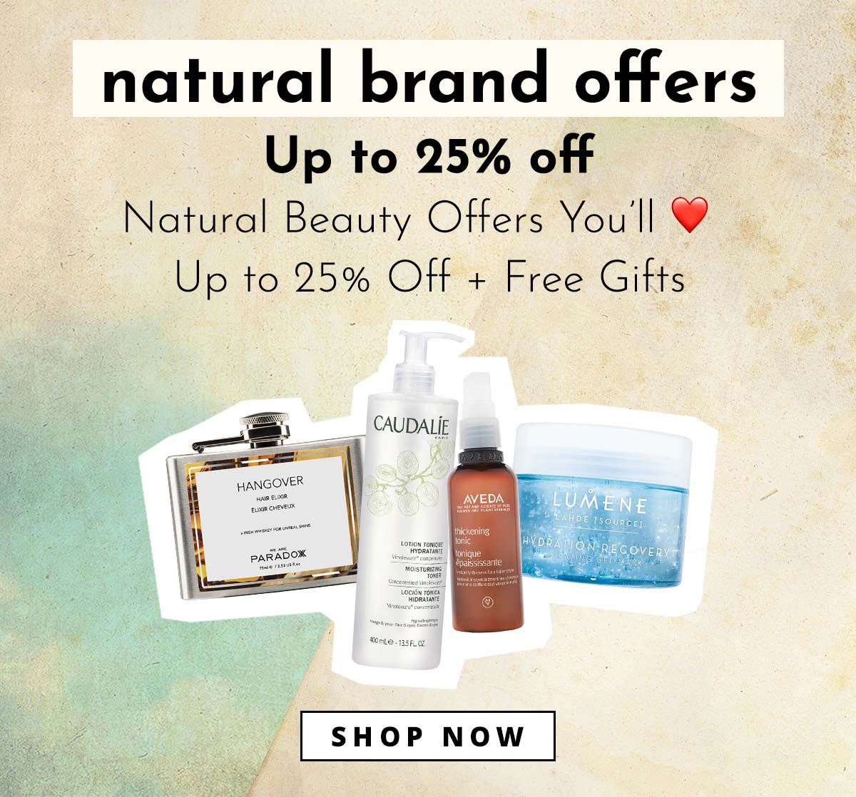 Natural Brand offers