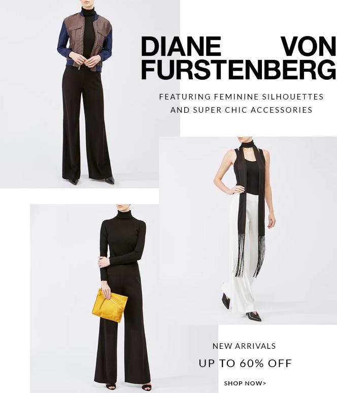 Diane Von Furstenberg new arrivals up to 60% off shop now