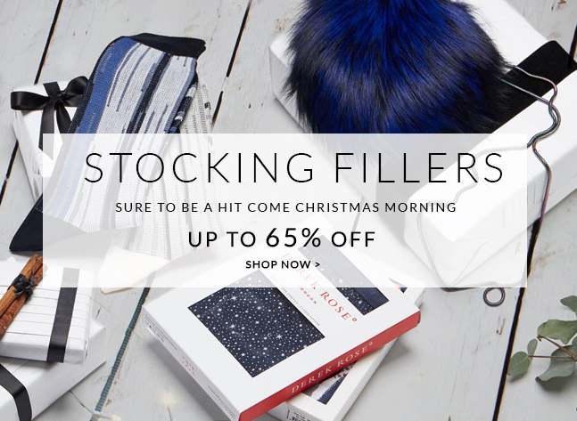Stocking Fillers - Gifts that are sure to be a hit come christmas morning up to 65% - Shop now >