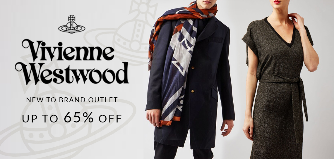 Vivienne Westwood new to Brand Outlet - up to 65% off