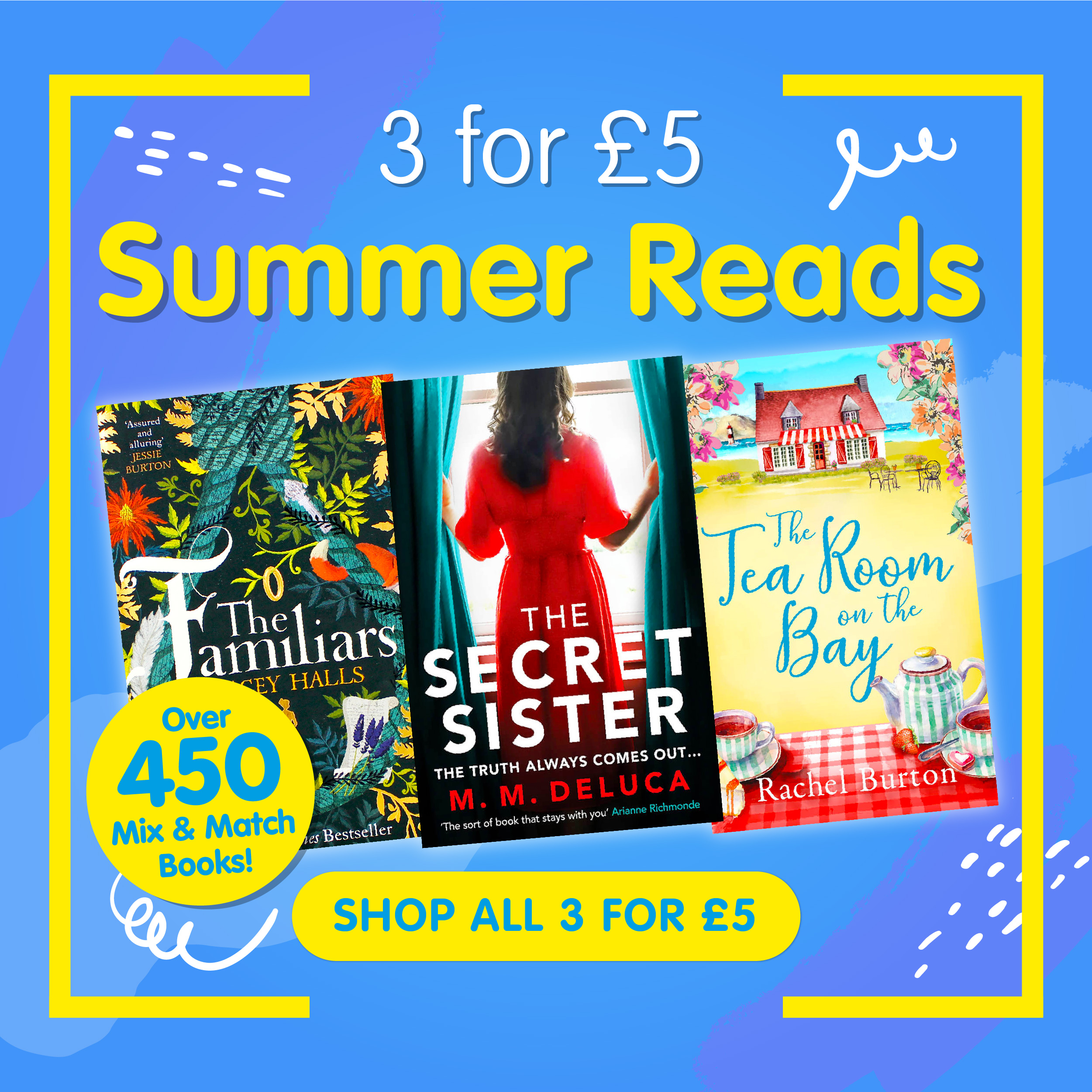 3 for £5 Summer Reads