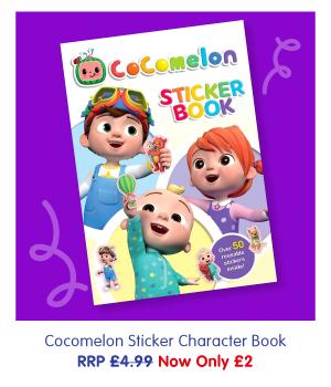 Cocomelon Sticker Book