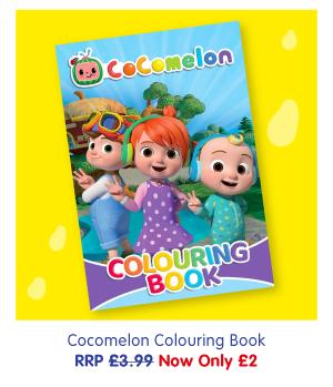 CocoMelon Colouring Book