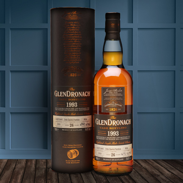 GLENDRONACH 26 YEAR OLD CASK 8634 TWE EXCLUSIVE